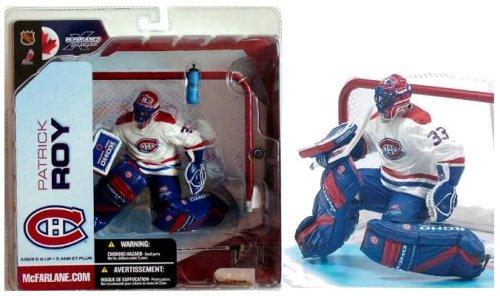 McFarlane NHL 5 Patrick Roy Montreal Canadians White Variant Chase Figure McFarlane Toys