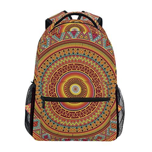 Backpacks Versailles Bohemia Floor Sunshine Art Yellow And College School Book Bag Travel Hiking Camping Daypack