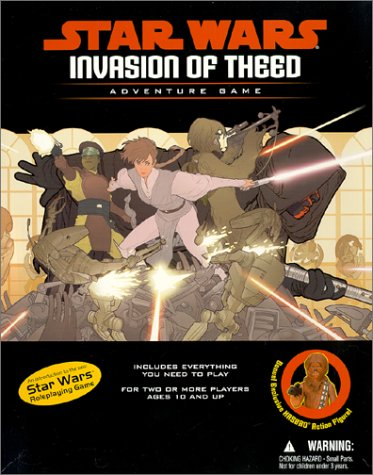 Invasion of Theed (Star Wars Sci-Fi Roleplaying)