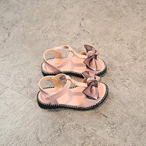 Chic Pour Baskets Rose Été Papillon 4 Fille Nœud 9 Bébé Ans