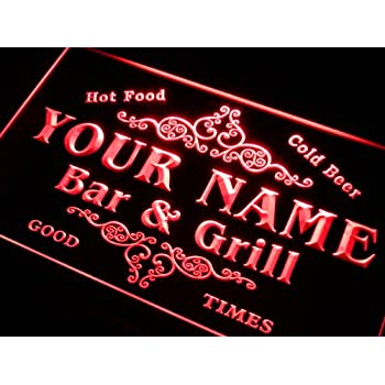 Personalized Neon Signs Extraordinary Personalized Custom Design Beer Neon Sign 60w X 60h Handmade Glass