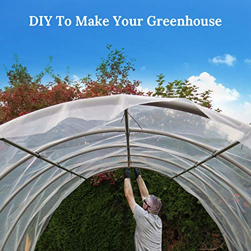 BenefitUSA 12ft X 25ft Clear Plastic Greenhouse Cover 6mil Thicker PE Covering by Benefit-USA (Image #6)
