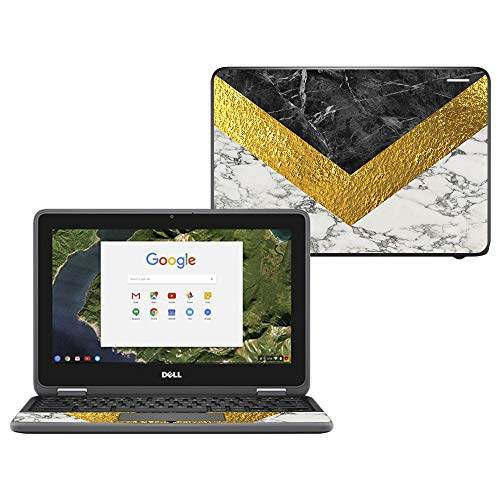 MightySkins Skin Compatible with Dell Chromebook 11' 3180 - Modern Marble | Protective, Durable, and Unique Vinyl Decal wrap Cover | Easy to Apply, Remove, and Change Styles | Made in The USA