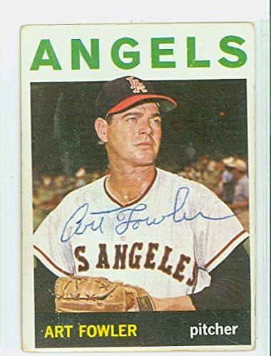 EX-MT 1964 Topps Baseball Card #349 Art Fowler