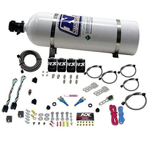 Nitrous Express 20224-15 50-150 HP x 2 EFI Dual Stage with 15 lbs. Bottle for GM