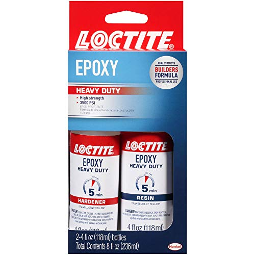 Loctite Heavy Duty Epoxy Quick Set 8-Fluid Ounce