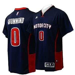 Amazon.com   Andre Drummond Detroit Pistons Navy Motor City Adidas ... d6381d54b