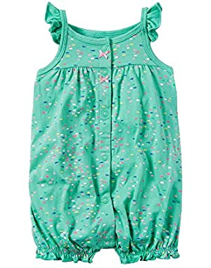 Baby Girls' Fish Creeper