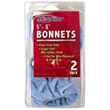 Detailer's Choice 6-356 5 to 6-Inch Microfiber Bonnets - 2-Pack