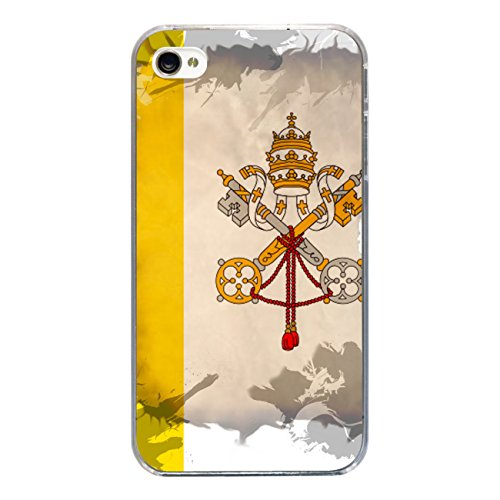 "Disagu Design Case Coque pour Apple iPhone 4s Housse etui coque pochette ""Vatikan"""