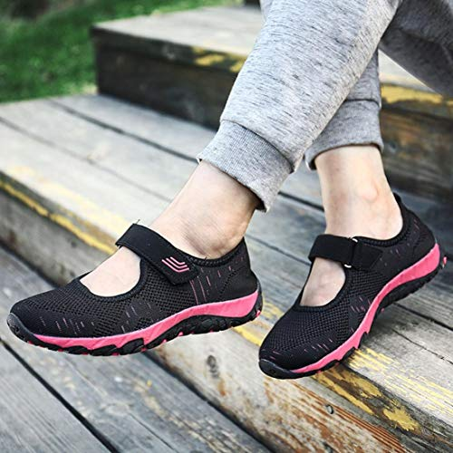 Lightweight Flying Mesh Shoes Look Women New Casual Loafers Junior Black Comfortable Fashion Wedges Woven Comfortable n0IxRR