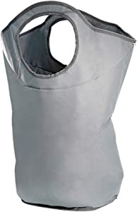 "SUPINEFOX US Large Laundry Basket, Collapsible Fabric Laundry Hamper, Foldable Clothes Bag, Folding Washing Bin, 28"" Big Size (Green Gray)"