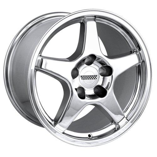 Detroit 840 ZR1 Corvette Chrome Replica Wheel (17x9.5