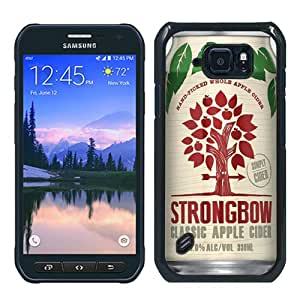 Recommended Design Samsung Galaxy S6 Active Case,Strongbow Classic Apple Cider Black Samsung Galaxy S6 Active Customized Case