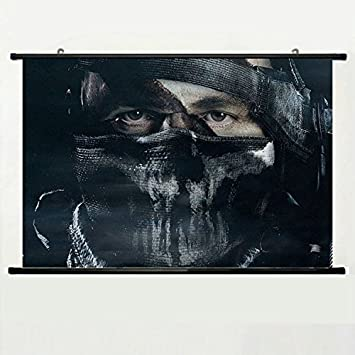 activision poster  : Wall Scroll Poster with Call Of Duty Ghosts Game ...