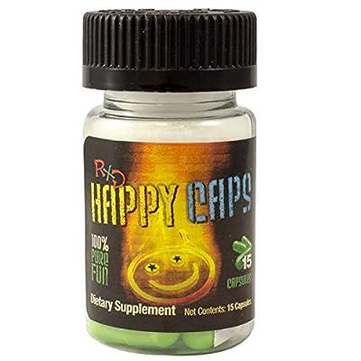 Happy Caps 15ct. Bottle!