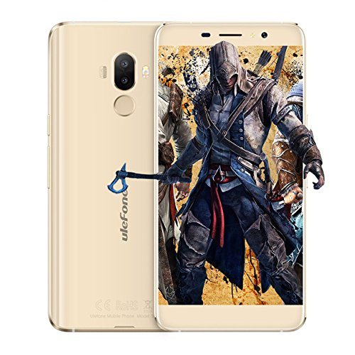 Ulefone S8 Pro, 2GB+16GB, Fingerprint Identification, Dual Back Cameras, 5.3 inch Android 7.0 MTK6737 Quad Core 64-bit up to 1.3GHz, OTG, Network: 4G, Dual SIM (Gold)