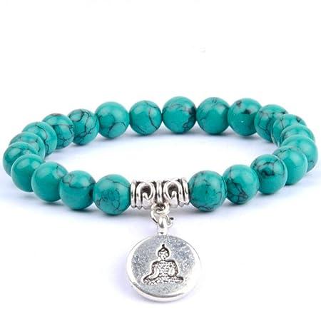 DMUEZW Buda clásico Pulseras brazaletes para Las Mujeres ...