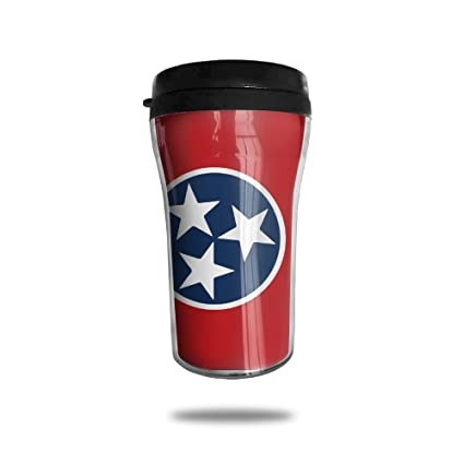 amazon com tennessee state flag coffee cup personalized travel mug