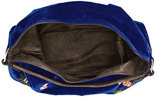 Velvet portés Swankyswans Sacs Daria Bleu épaule Blue Bag Royal Reversible C57w1qH