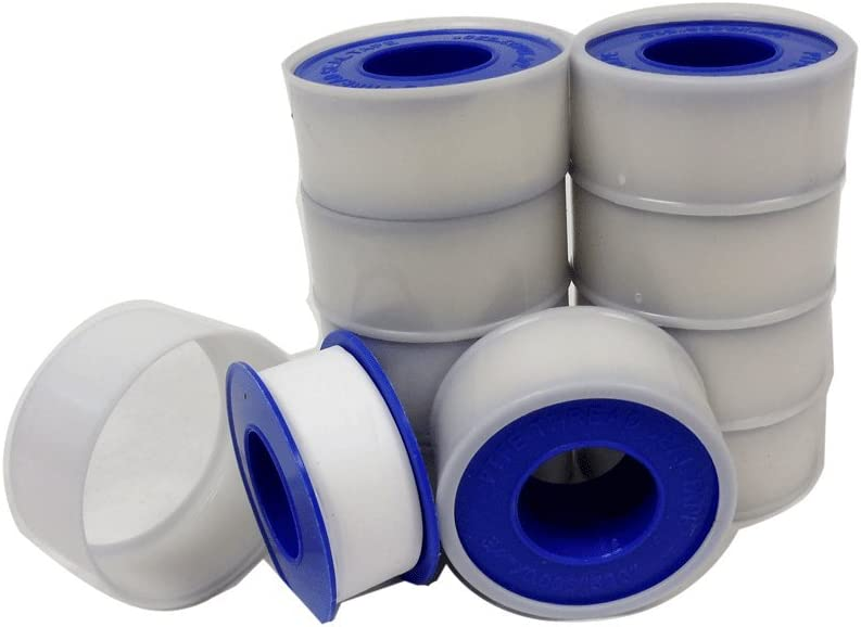 "2 X Rolls 1//2/"" x 360/"" Teflon Plumbing Thread Seal Tape for Pipe Sealing"