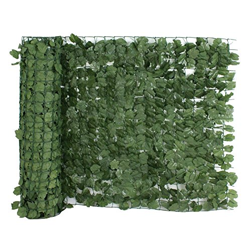 BBBuy Faux Ivy Privacy Fence Screen 94'' X 39'' Artificial Hedge Fencing Outdoor Decor (1 set) by BBBuy