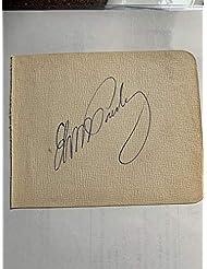 Elvis Presley Signed Autograph Cut JSA Authentication
