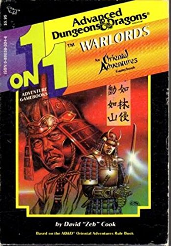 Warlords: An Oriental Adventures Gamebook (Advanced Dungeons & Dragons)