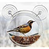 Round Window Bird Feeder: Watch Wild Birds Up Close, Great Gift for Bird Lovers & Fun Summer Activity for Kids