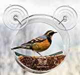#10: Round Window Bird Feeder: Watch Wild Birds Up Close, Great Gift for Bird Lovers & Fun Summer Activity for Kids