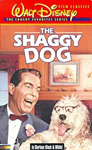 The Shaggy Dog [VHS]
