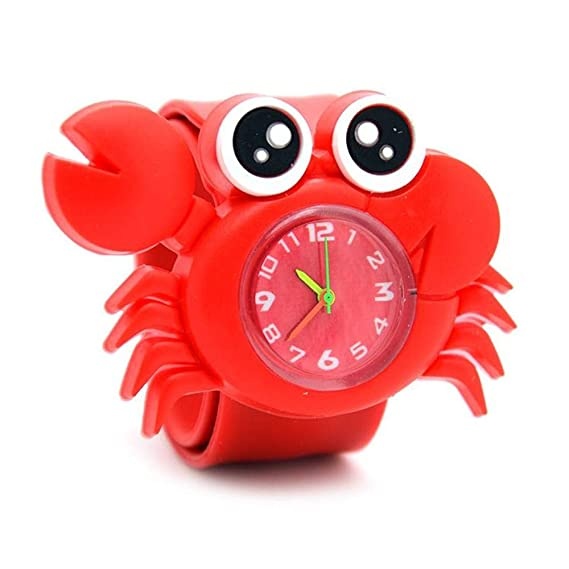 Dwthh Relojes Infantiles Relojes Infantiles De Dibujos Animados En 3D para Niños Reloj De Cuarzo para Bebés Relojes para Niñas Niños Regalos: Amazon.es: ...