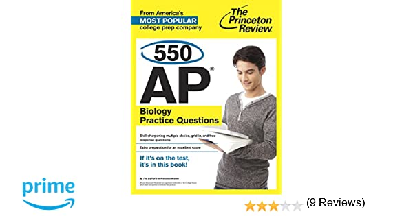 Amazon 550 ap biology practice questions college test amazon 550 ap biology practice questions college test preparation 9780804124881 princeton review books fandeluxe Images