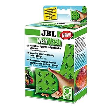 JBL Wish Wash 61526 Gamuza de Limpieza y Esponja para acuarios y terrarios: Amazon.es: Productos para mascotas