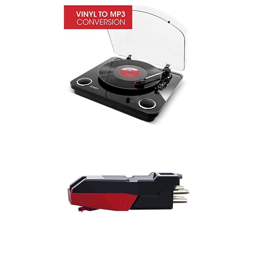 ION Audio Max LP y CZ-800-10 - Tocadiscos de vinilo de 3 ...