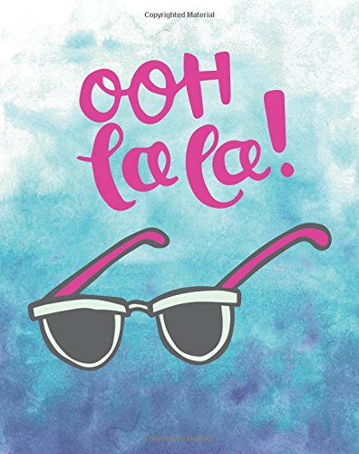 OOH La La! Sunglasses Bullet Journal: French Dot Grid Dotted Notebook Planner, Sketchbook Practice Book for Hand Lettering, Bullet Journaling, Diary, ... makes this Stylish Journal a Perfect - Relaxation Sunglasses