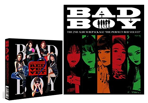 2nd Repackage KPOP RED VELVET [The Perfect Red Velvet] Album CD + Official Poster + Photo Book + Photo Card + Gift (4Photo Cards Set)