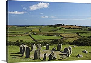 Drombeg Stone Circle Near Glandore In West Cork County Cork Ire
