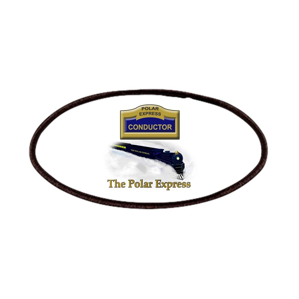 CafePress - The Polar Express Conductor Patches - Patch, 4x2in Printed Novelty Applique Patch