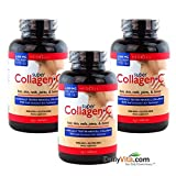 Super Collagen+c (Type 1&3) 250 Tablets X 3 by Neocell