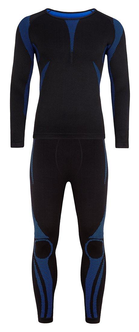 Sport Funktionswäsche Set (Hemd + Hose) aus Seamless - Ski Thermo- Funktionswäsche