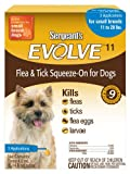 Sergeant's Evolve 11 Flea and Tick Squeeze-On, Dog, 11 to 20-Pound, My Pet Supplies