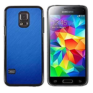 Paccase / SLIM PC / Aliminium Casa Carcasa Funda Case Cover para - Winter Rain Snow Autumn Fall Clean - Samsung Galaxy S5 Mini, SM-G800, NOT S5 REGULAR!
