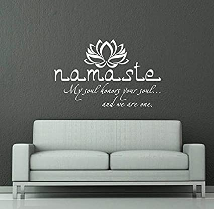 Wall decals quotes buddha quote sign words namaste yoga mandala wall decals quotes buddha quote sign words namaste yoga mandala lotus flower wall vinyl decal stickers mightylinksfo