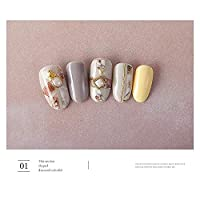 3d Printer - 1 Sheet 3d Nail Art Transfer Stickers Marble Nail Designs Japanese Nail Accessoires For Nail Decorations by Kisame