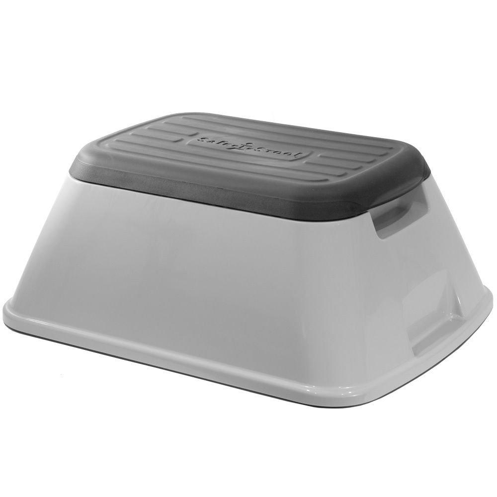Professional house Safe-T-Stool Versatile Anti-tip Slip Resistant Step Stool (Grey)