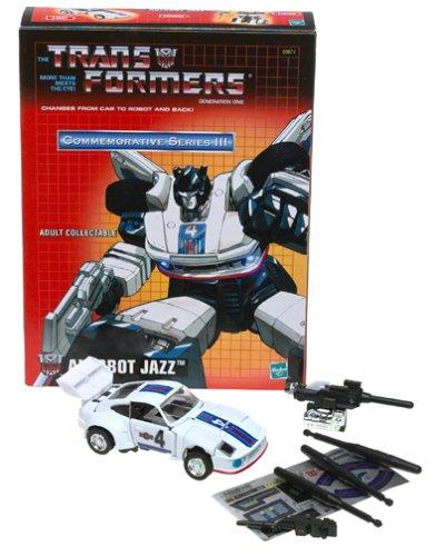 Transformers Jazz Commemorative Series III Generation One Reissue Action Figure