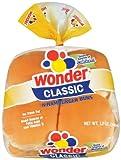 Wonder Hamburger Buns, 8 ct