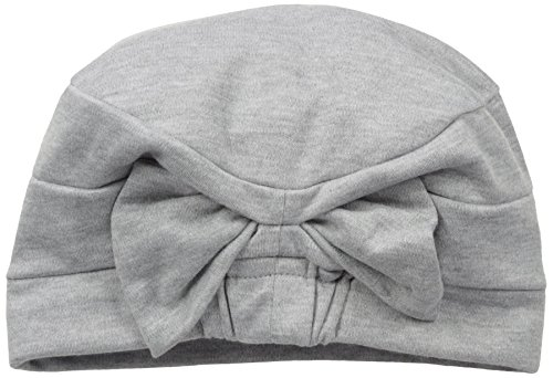 Hats for You Women's Chemo Cap With Removable Bow, Sweatshirt Grey, One (Removable Bow)