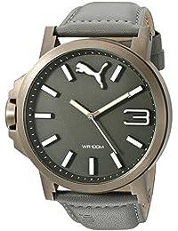 Unisex PU103461004 Ultrasize Analog Display Quartz Grey Watch